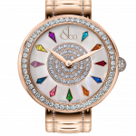 Pager to activate Brilliant One Row Rose Gold Couture 38mm