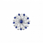 Pager to activate Infinia Pearl Blue Sapphires Ring
