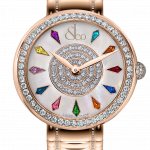 Pager to activate Brilliant One Row Rose Gold Couture 44mm