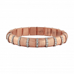 Pager to activate HEMATITE BRACELET 19 ROSE BARS