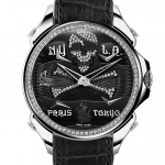 Pager to activate Palatial Five Time Zone Pirate Steel