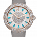 Pager to activate Brilliant Half Pave Icy Blue Sapphires 44mm