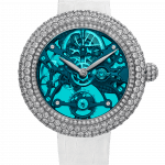 Pager to activate Brilliant Skeleton Northern Lights White Gold Blue