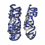 Pager to activate Sapphire Carnivale Full Finger Ring