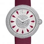Pager to activate Brilliant Half Pave Rubies 44mm