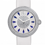 Pager to activate Brilliant Half Pave Blue Sapphires 38mm