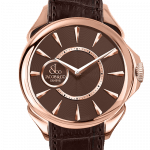 Pager to activate Palatial Classic Automatic (Brown Dial)