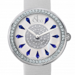 Pager to activate Brilliant One Row Blue Sapphires 44mm