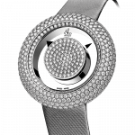 Pager to activate Brilliant Mystery Pave Diamonds White Gold