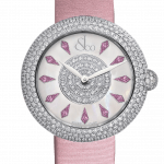 Pager to activate Brilliant Half Pave Pink Diamonds 44mm