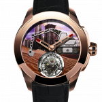 Pager to activate Pioneer Tourbillon Rose Gold