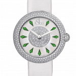 Pager to activate Brilliant Half Pave Tsavorites 38mm