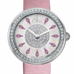 Pager to activate Brilliant One Row Pink Sapphires 44mm