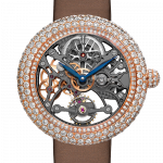 Pager to activate Brilliant Skeleton Jewelry Rose Gold Movement