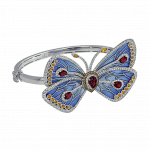 Pager to activate Blue Cathedral Papillon Bangle