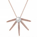 Pager to activate Star Pearl Diamond Pendant