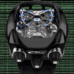 Pager to activate Bugatti Chiron Tourbillon Polished Titanium