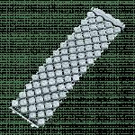 Pager to activate Asscher Cut Mesh Diamond Bracelet