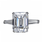 Pager to activate Emerald-Cut Diamond
