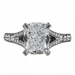 Pager to activate Cushion-Cut Diamond