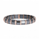 Pager to activate Hematite Bracelet 20 Rose Bars