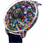 Pager to activate The Mystery Tourbillon Arlequino