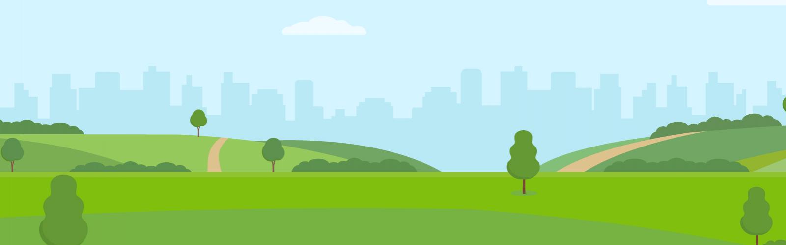 a city landscape