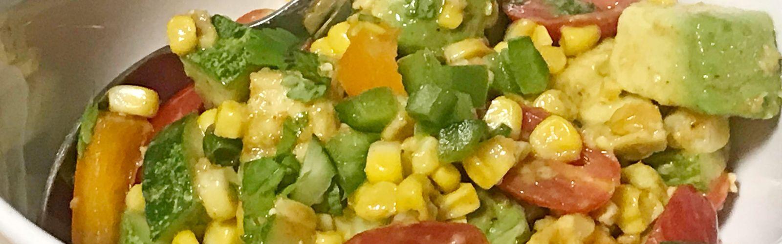 Roasted Corn Salad hero image