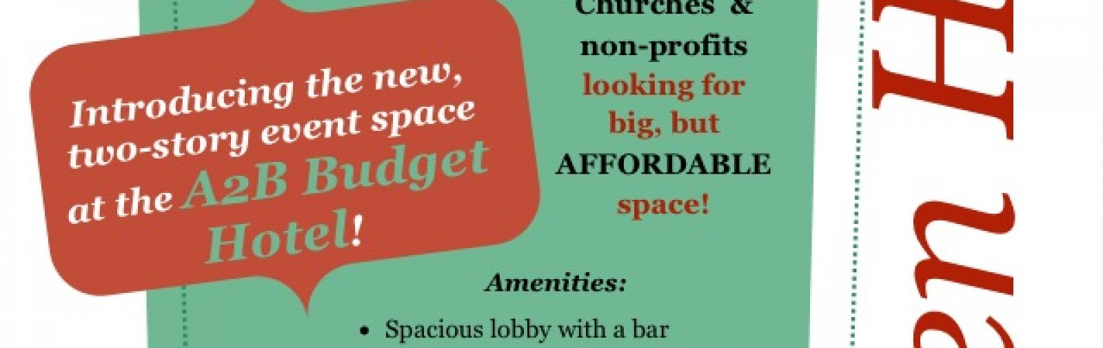 Stablegold Hospitality Hotel Newsletter