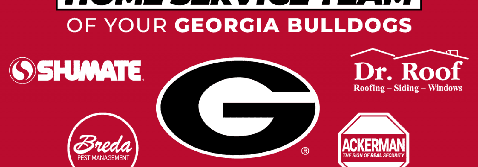 Georgia Bulldogs Home Services Team