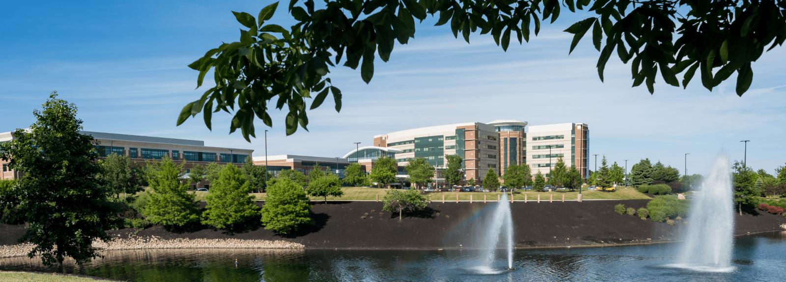 Reid Health's main campus, 1100 Reid Parkway