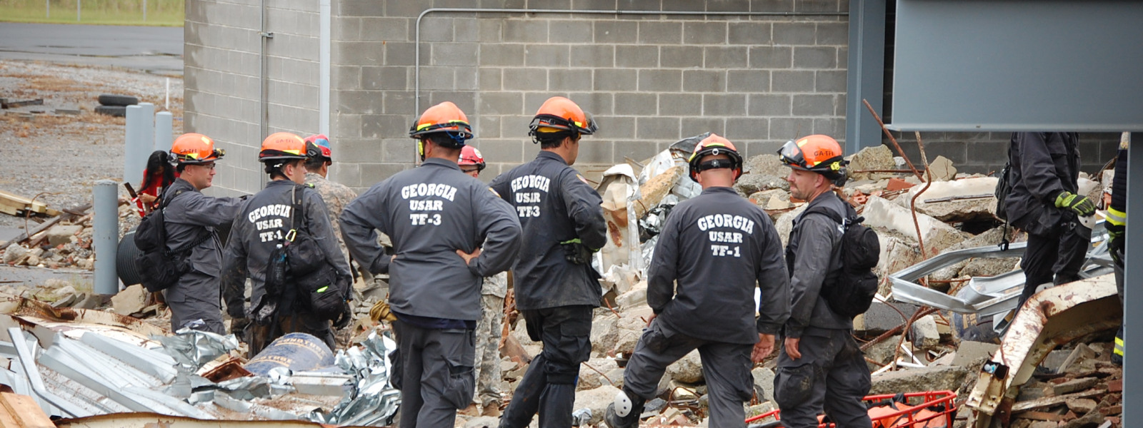 Earthquake Response - USAR Task Force