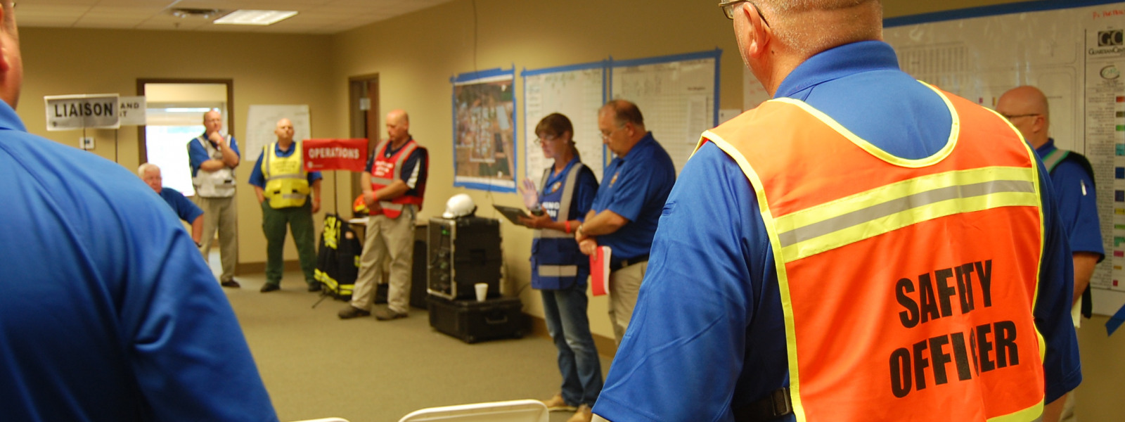Earthquake Response - Incident Management Team