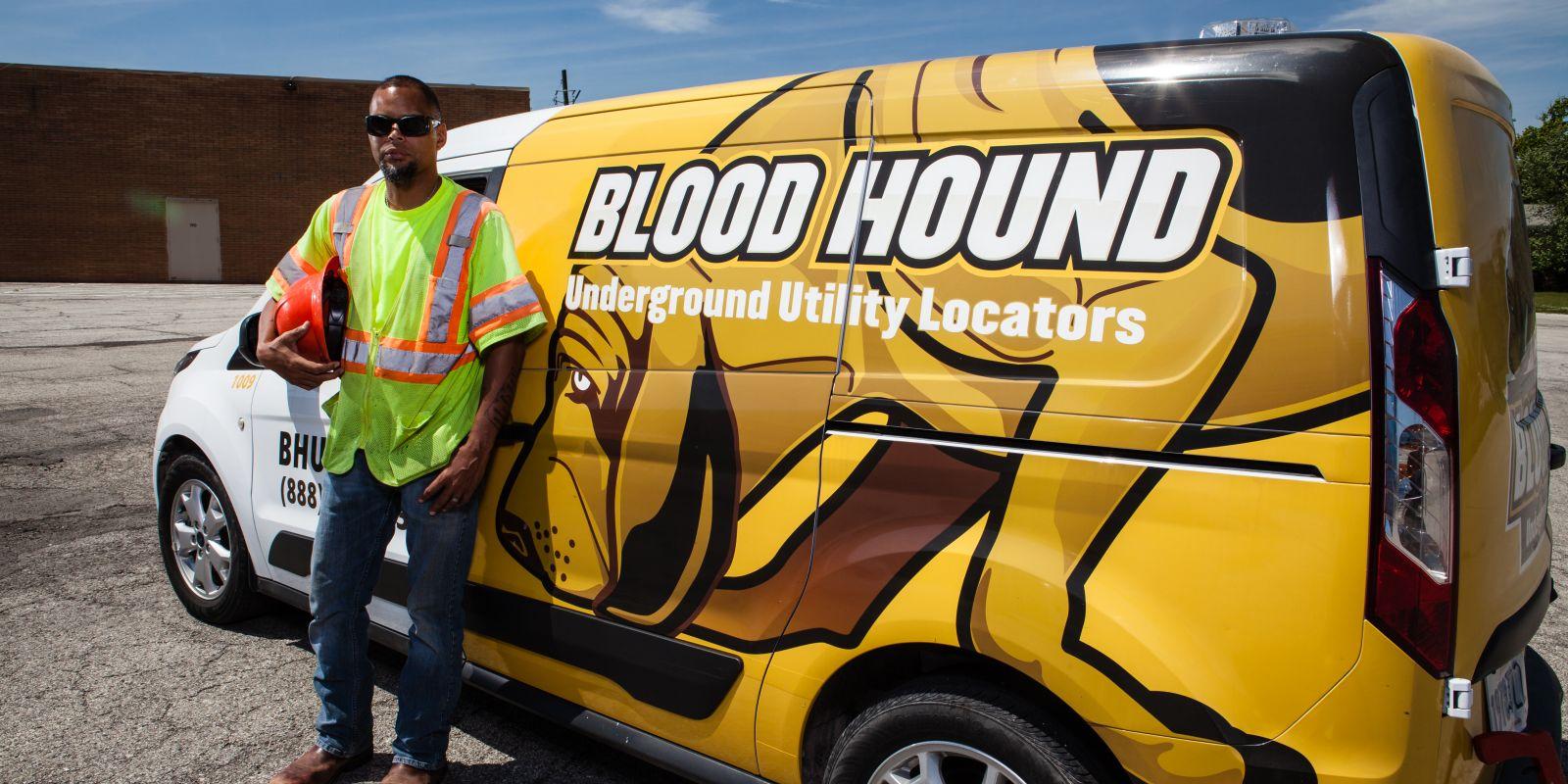 Funny Utlity Locator : Utility locating in chicago blood hound llc
