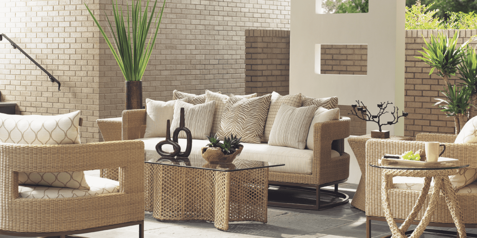 Wicker Deep Seating