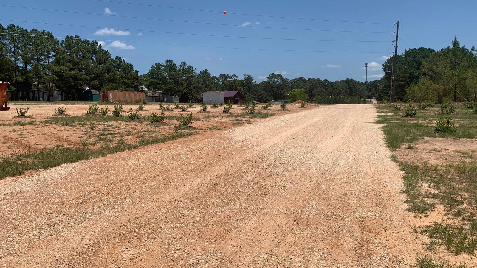 Participant RV area road.