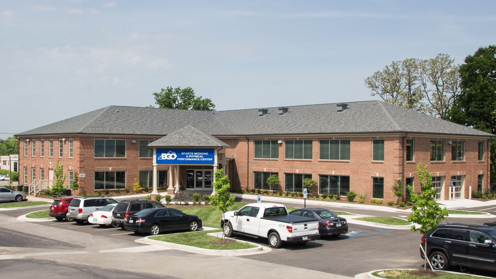 exterior image of medical building
