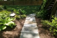 Pager Link for New sod with stone step pathway installed