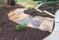 Pager Link for Brown stone stair treads in landscape