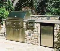 Outdoor Kitchens or Grill Stations