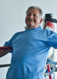 'Reid Rock Steady Boxing' fights Parkinson's symptoms