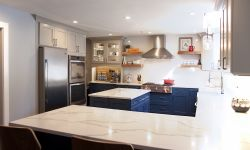 Thumbnail control image for a modern kitchen with stainless steel appliances