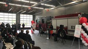 Open House Ceremony - South Fulton Fire House