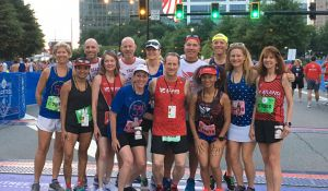 2019 Board Members at the 50th AJC Peachtree Road Race