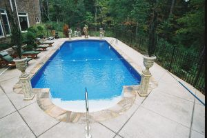 Custom Rectangle Vinyl Pool