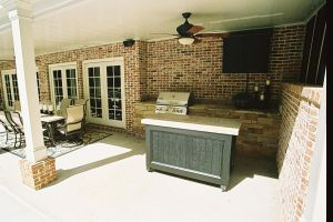 Outdoor Grill Stations