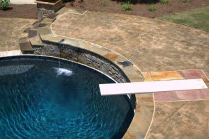 Custom Diving Board Install