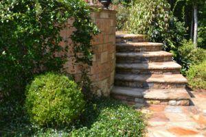Custom Natural Stone Steps