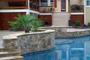 Gunite Pool w/Stunning Rock Detail