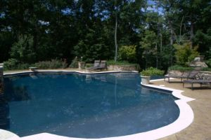 Gunite Pool with Walk-in Beach Entry